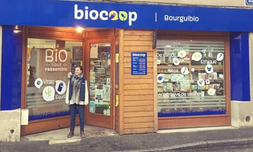 Photo du magasin Biocoop Bourg Argental Bourguibio